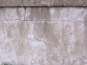 Photo of a textured wall