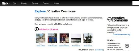 flickr creative commons preview