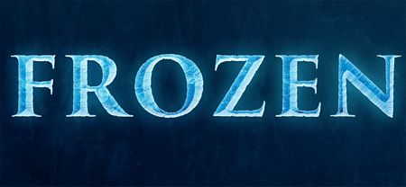 frozen text effect preview